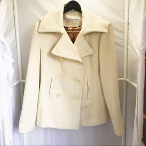 Steve Madden Winter Coat Wool Blend sz Large
